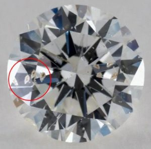 diamond-with-inclusions