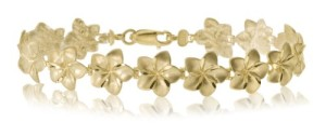 14K-yellow-gold-Hawaiian-flower-bracelet
