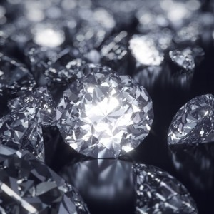 Many people confuse moissanites with diamonds.